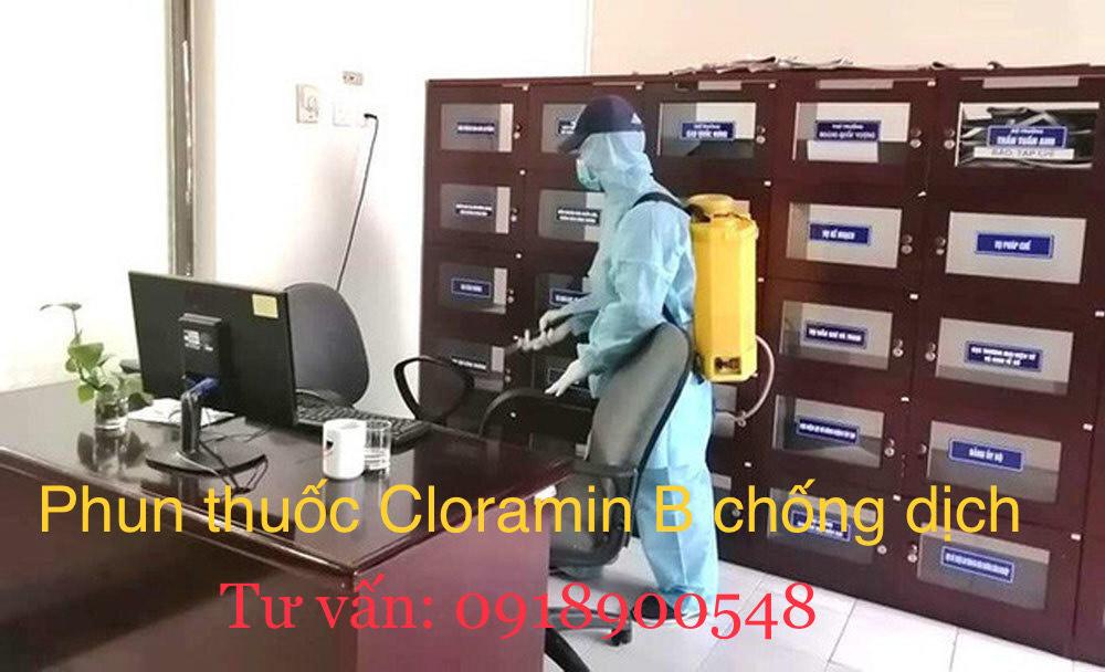 Dịch vụ khử trùng chống dịch