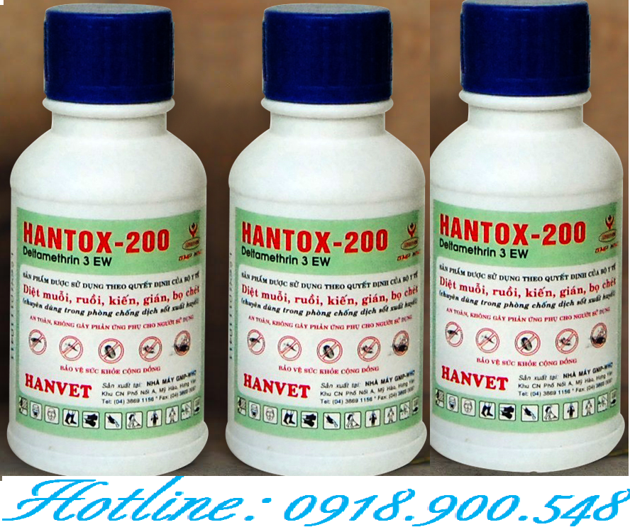 Hóa chất diệt côn trùng Hantox -200