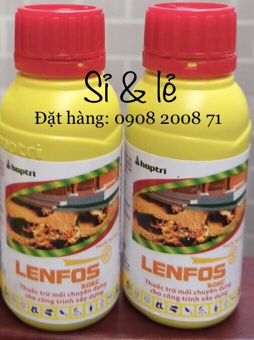 Thuốc chống mối Lenfos 50EC - Chống mối hiệu quả cho công trình, phòng mối kho xưởng